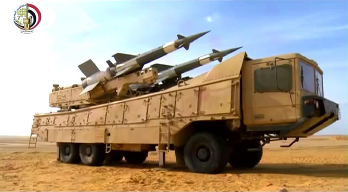 الدفاع الجوى تنفذ رماية بالذخيرة الحية ضمن أنشطة المناورة الإستراتيجية -بدر 2014-....مصر - Y...jpg