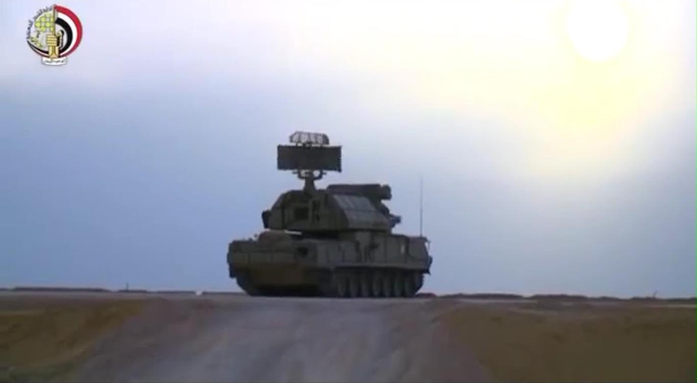 قوات الدفاع الجوى تنفذ رماية بالذخيرة الحية.jpg