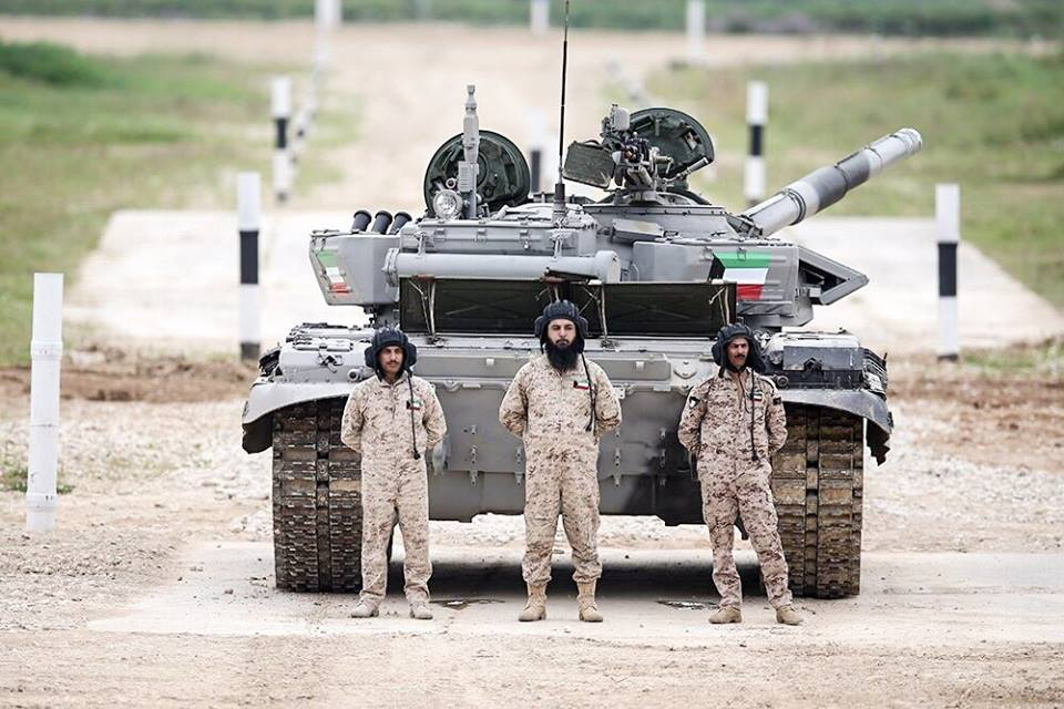 Kuwait team at the Tank Biathlon 2.jpg