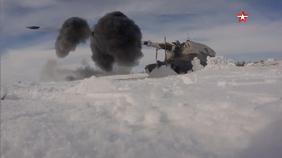 Screenshot_2021-04-09 Мощь артиллерии военнослужащие уничтожили «врага» из САУ «Малка» на учен...png