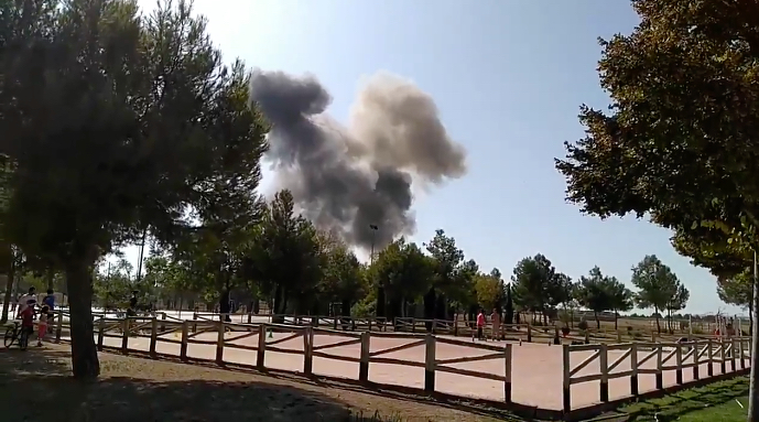 Spanish Eurofighter Typhoon Crashes Near Albacete.jpg
